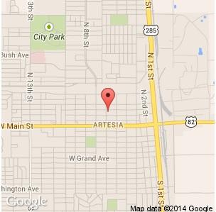 Shuman PC CPA Map, Artesia, NM
